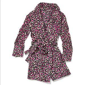 Victoria's Secret leopard print robe